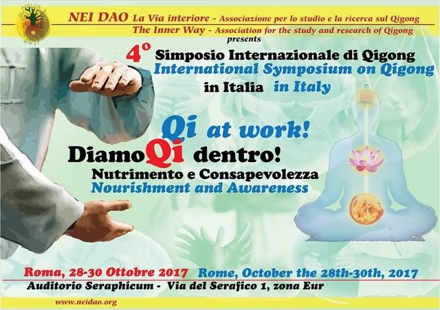 Simposio internazionale di Qigong a Roma