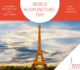 15 novembre World Acupuncture Day – UNESCO a Parigi